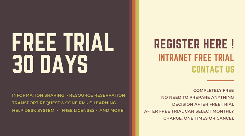 FREE Trial Intranet